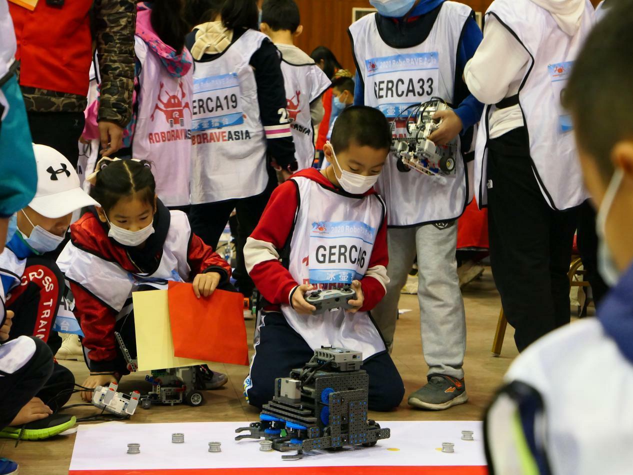 2020RoboRAVE国际机器人大赛 菩鼗教育喜报