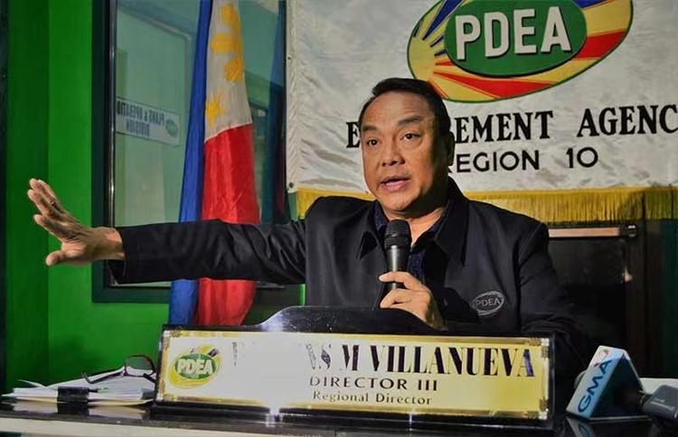 菲律宾缉毒署署长确诊新冠肺炎